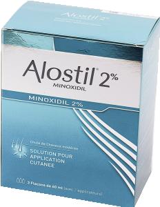 Alostil 2%, solution pour application cutanée
