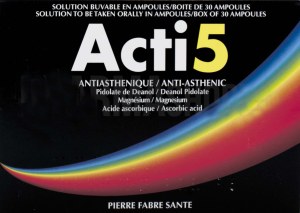 Acti 5, solution buvable en ampoule