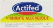 Actifed lp rhinite allergique, comprimé pelliculé à libération prolongée